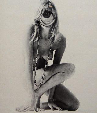 Dennis Busch: Girl, 2013 www.kidsofdada.com/products/girl-2013 #art #affordableart #collage