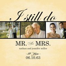50th anniversary save the date postcard - Google Search
