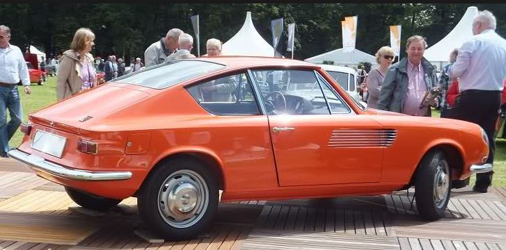 1965 Daf 44 coupé Michelotti