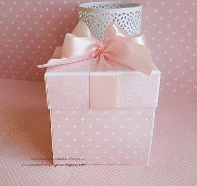 Papierowa przystań: Pudełko z kołyską