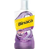 BINACA enjuague bucal antiplaca sin alcohol encias. Botella 500 ml