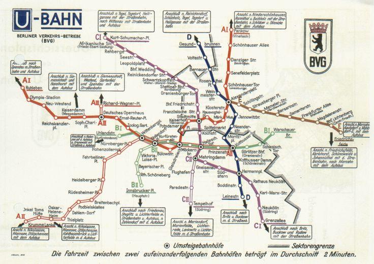 Berliner U-Bahn 1956 (Eroeffnung Seestrasse/Kurt-Schumacher-Platz)