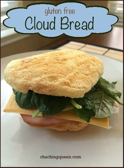 Gluten Free Cloud Bread Recipe   Paleo   Gluten Free   Recipes www.chachingqueen.com