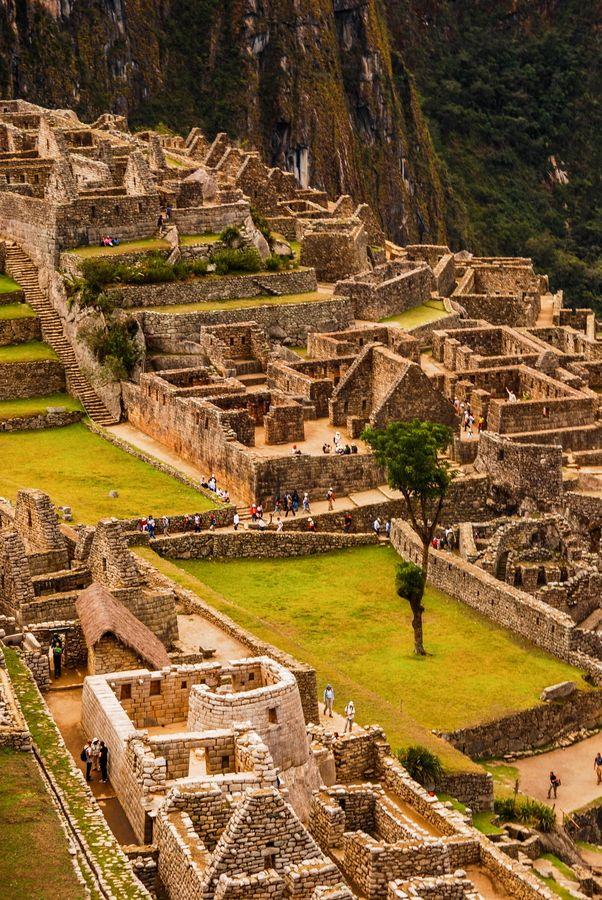 City of Stone Machu Picchu  Peru