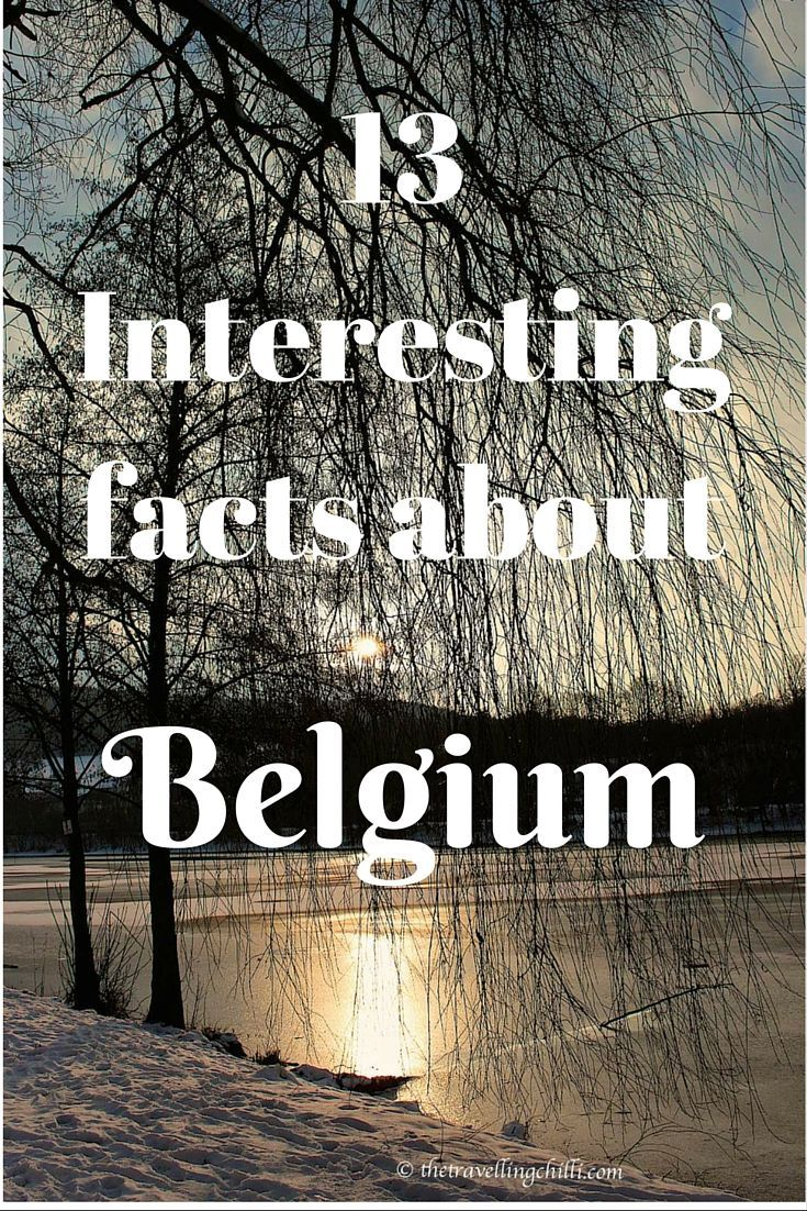 13 Interesting facts about Belgium