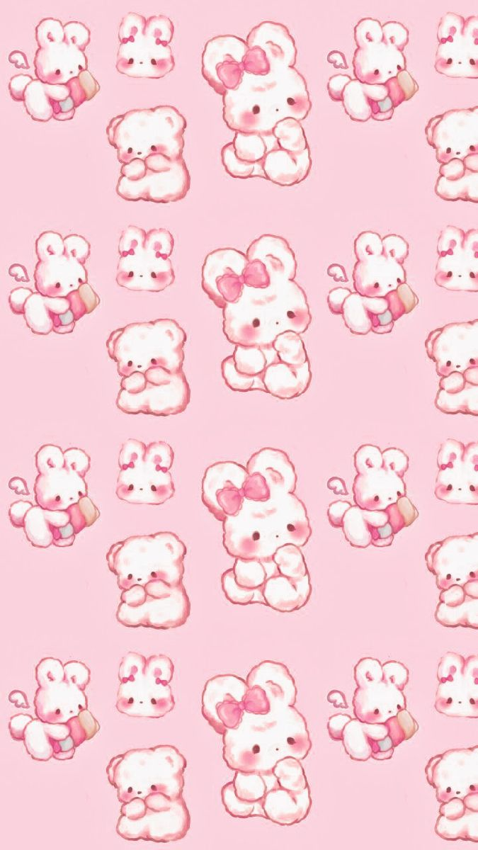 Cute Wallpaper In 2021 Cute Pastel Wallpaper Sanrio Wallpaper Cute Patterns Wallpaper