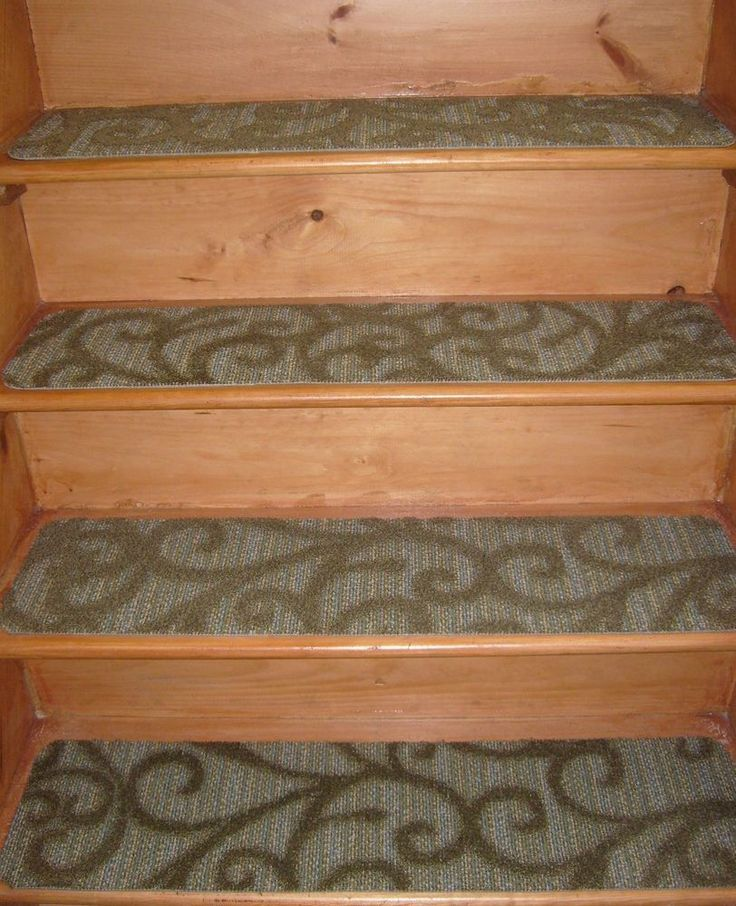 13 Step In/Outdoor Stair Treads Non-Slip Staircase Step Rug Carpet 9'' x 36'' #VPrug #Transitional
