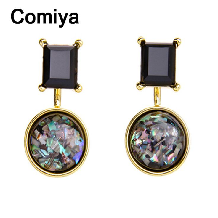 Comiya pendientes mujer moda brincos de festa mode boho zink-legierung harz stein hängen ohrringe indischen schmuck ohrring
