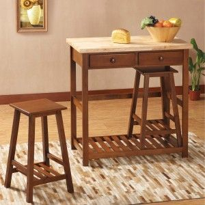 Chocolate Wooden Breakfast Bar Stools For Traditional Kitchen Decor