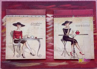 Erre Én is kíváncsi vagyok!: Csokoládék, és koktélok festmény kreáció kávéházba...