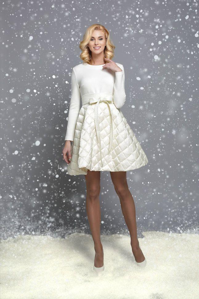 Платье клеш WF15 J 014 айвори купить недорого в интернет магазине