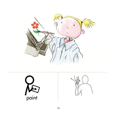tactile sign language chart | Makaton+signs+and+symbols