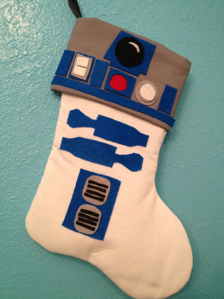 Star Wars R2D2 Holiday Christmas Stocking Artoo. $25.00, via Etsy.