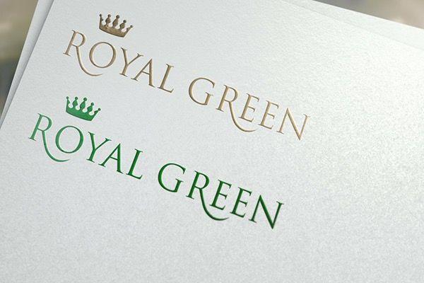 Royal Green arany és zöld változatban on Behance