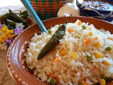 Como preparar un arroz blanco perfecto - YouTube