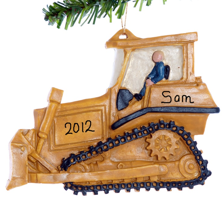 Best Christmas Tree Farms In Nc: 28 Best Construction Equipment Christmas Ornaments Images