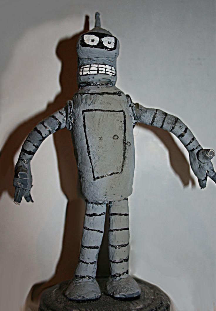 Bender Figure of DAS and acrilic color