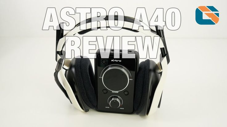 Astro A40 + Mixamp Pro Gaming Headset Review [ http://www.youtube.com/geekanoids ]