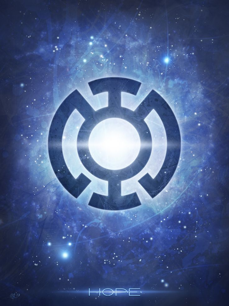 Hope ~ The Blue Lantern Corps digital theory | Tumblr