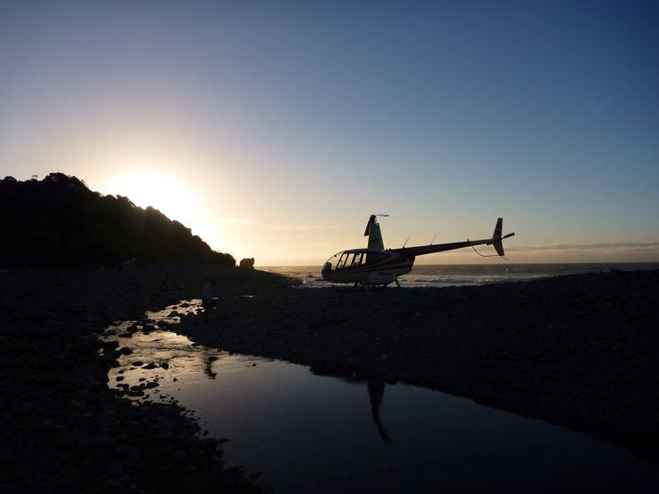 The perfect evening for a seaside meal after a big day heli fishing in the remote New Zealand wilderness. www.southernriversflyfishing.co.nz