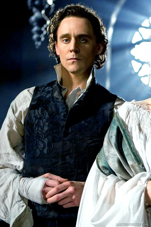 Tom Hiddleston in Crimson Peak. I loved the attention to detail on the sleeves and the brocade vest.