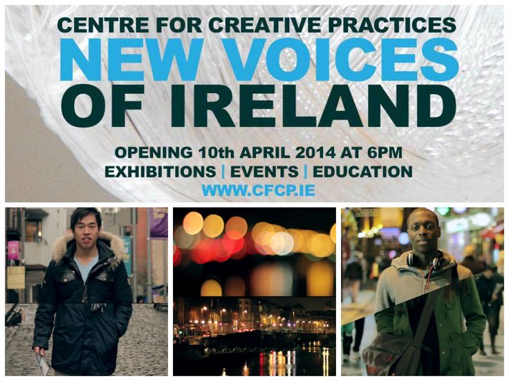 """The New Voices of Ireland is a multidisciplinary and intercultural series of artistic events starting with """"We are Dublin"""", a short documentary and an ode to Dublin and its inhabitants by the Dublin based French audio artist and filmmaker Wissame Cherfi!"""