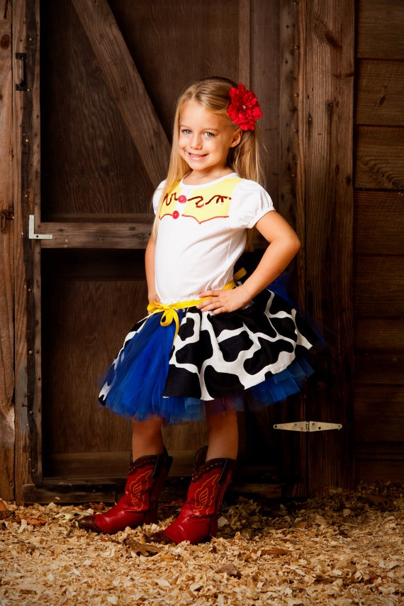 Jessie The Cow Girl Toy Story Inspired Tutu