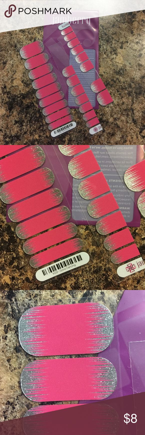 Jamberry Nail Wraps 1K29-Gone Dancing Nail Wraps. Jamberry Other
