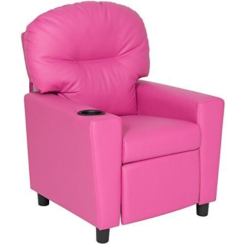 Best Choice Products presents this kids recliner. Add a comfortable addition to your home designed especially for the kids. Children's recliner is constructed of smooth vinyl and a steel interior frame. Thick and padded cushions provides maximum comfort and support while lounging. Little... more details available at https://furniture.bestselleroutlets.com/children-furniture/chairs-seats/recliners/product-review-for-best-choice-products-kids-furniture-recliner-chair-with-
