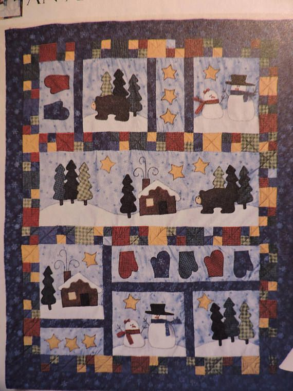 American Tradition Quilt Mantle Cover Pillows & Stockings