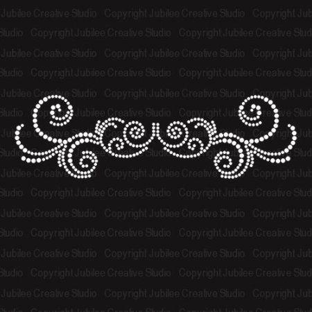 Amazon.com: Embellish Ornaments 1 Iron On Rhinestone Crystal Transfer: Arts, Crafts & Sewing $6