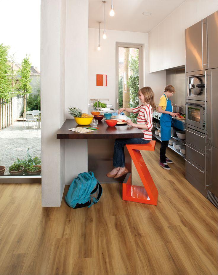 Moduleo Classic Oak 24815 Contemporary Kitchen