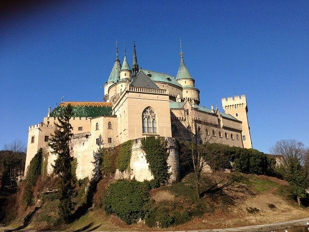 Bojnice castle in Slovakia.