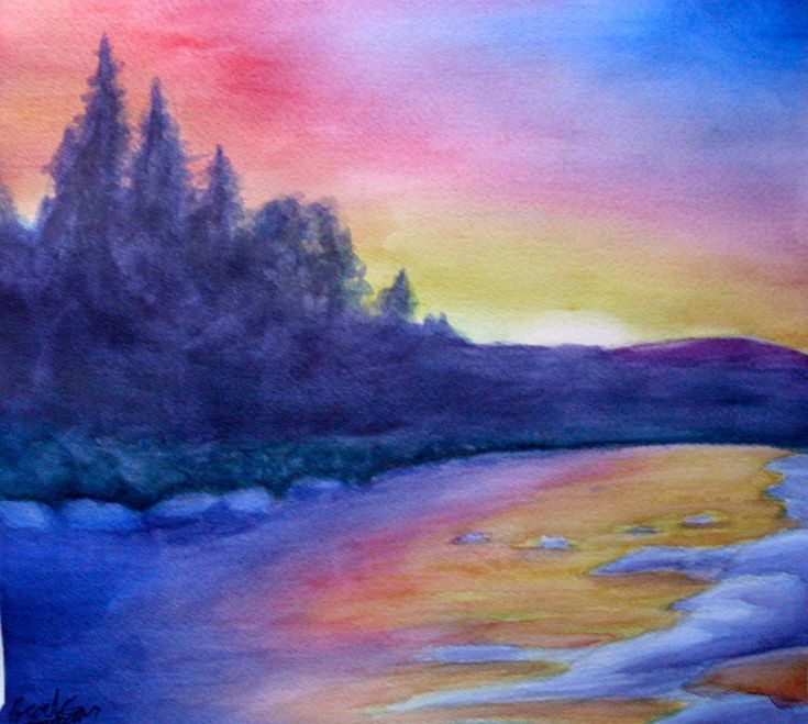 Watercolor painting for beginners easy google search for Easy watercolor for beginners