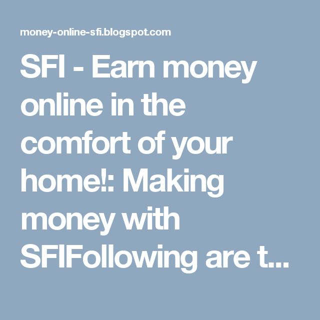 Earn money online in the comfort of your home! Free training.  No obligation. http://www.sfi4.com/17927589.912/FREE