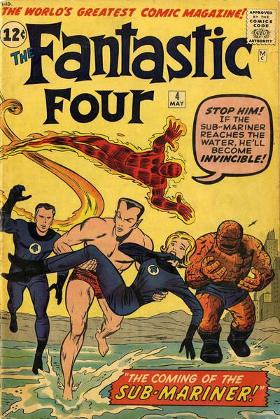 A hot-headed Johnny accidentally brings Namor back to the Marvel Universe! A wartime hero, the Sub-Mariner is angry at sea pollution and declares war on surface humanity.