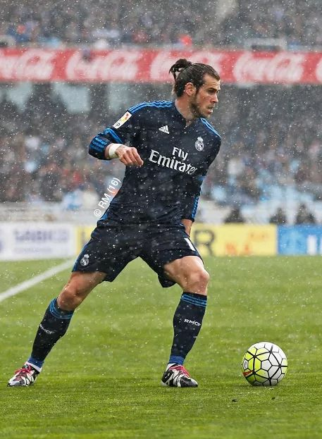 Gareth Bale. Real Madrid. …