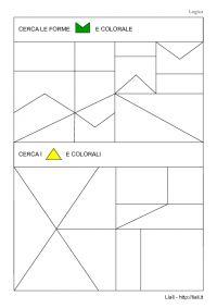 Esercizi di Logica - Forme - Triangolo