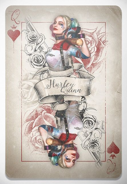 'Harley Quinn, Queen Of Bloody Hearts' by Laura Racero                                                                                                                                                                                 More