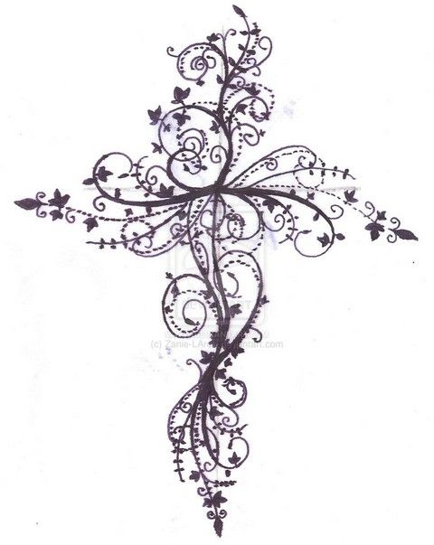 Feminine Cross Tattoos  2492.jpg