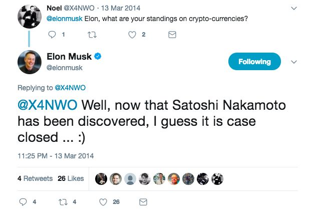 Did Elon Musk Create Bitcoin? A Former SpaceX Employee Thinks So .::. Get Trading Recommendations and Read Analysis on Hacked.com for just $39 per month. Elon Musk is many things. A billionaire a visionary the owner of companies such as Tesla and SpaceX and overall one of the most inspiring and intriguing figures we have in business today. .::. #bitcoin #crypto #cryptocurrency #elonmusk #future #spacex #tesla #visionary bhoot