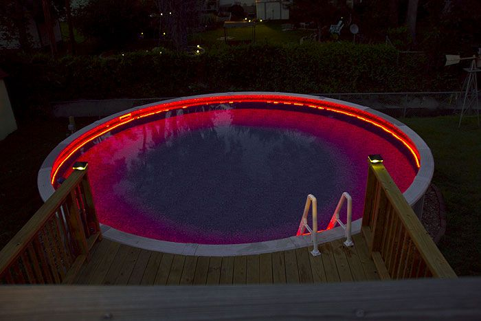 18 best waterproof led strip light images on pinterest - Led swimming pool lights inground ...