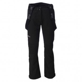 Kilpi, Dione, skibroek dames, zwart (Ski kleding dames)