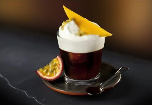 Pavlova Ijscappuccino