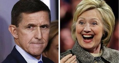 Trump calls out 'double standard' at DOJ, compares Mike Flynn to 'Crooked Hillary' for some weekend fireworks