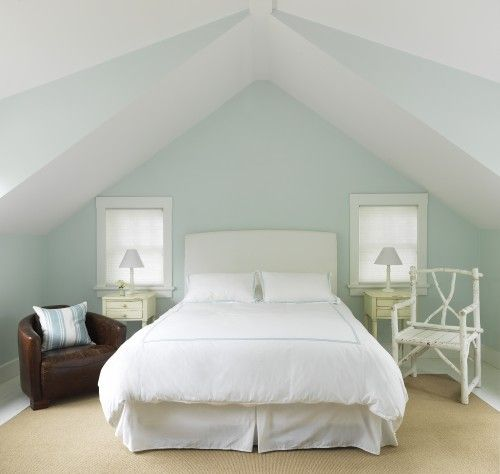 Benjamin Moore Cool Mint Green Pinterest Bedroom Small Designs And Attic Bedrooms
