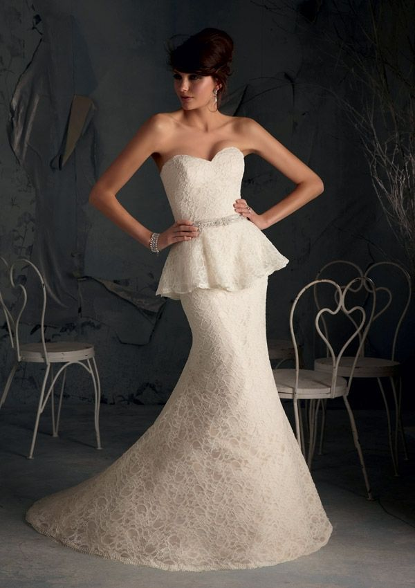 79 best fashion weddings mermaid gowns serendipity for White peplum wedding dress