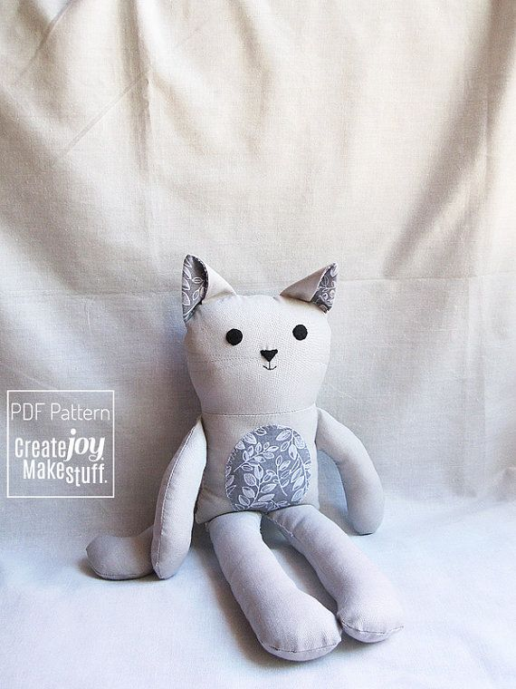 689 best Dolls, Cats etc. to sew images on Pinterest | Fabric dolls ...