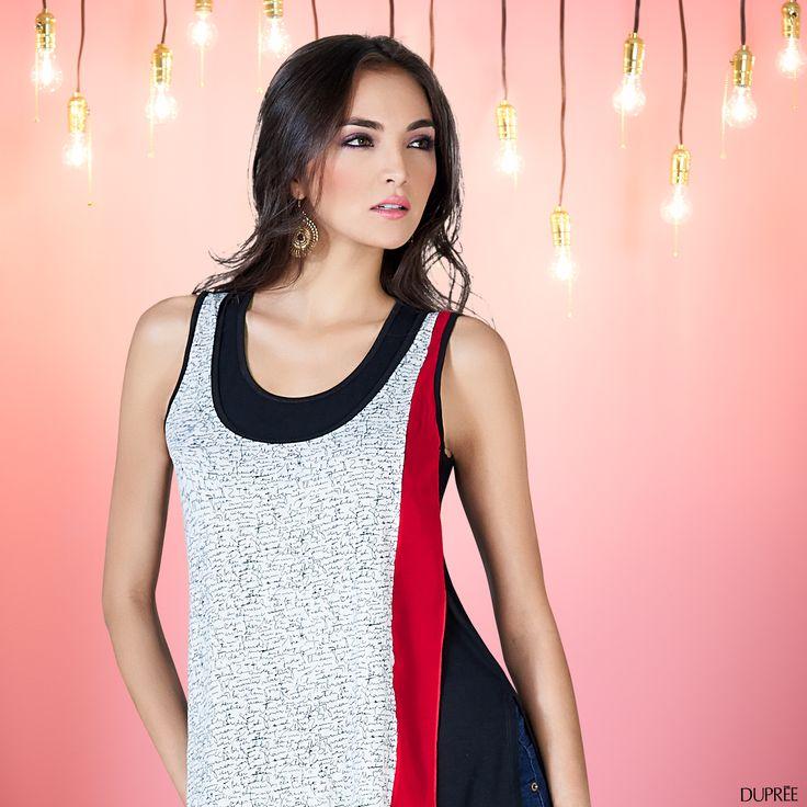 Blusas de moda. #Colores #Combinación #Mujer Dupree