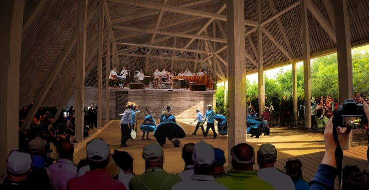 Gallery of This Ecological Cultural Center is Designed to Celebrate the Tradition of Marimba Music - 3